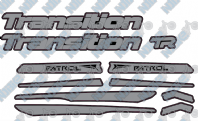Transition Patrol Decal Kit